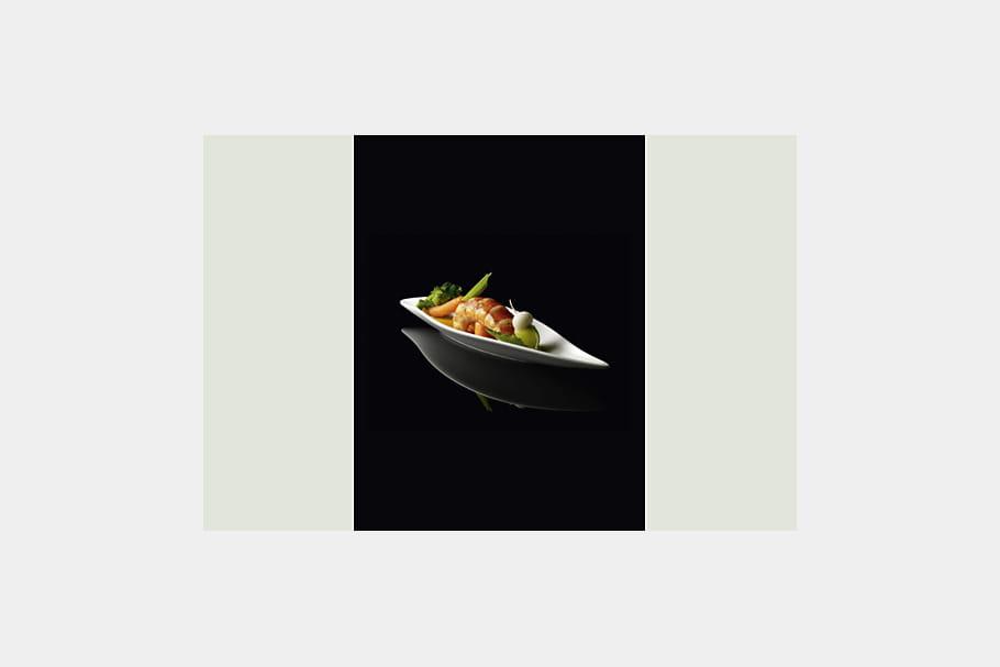 Homard Petits Poids Légumes par Sophie Rolland