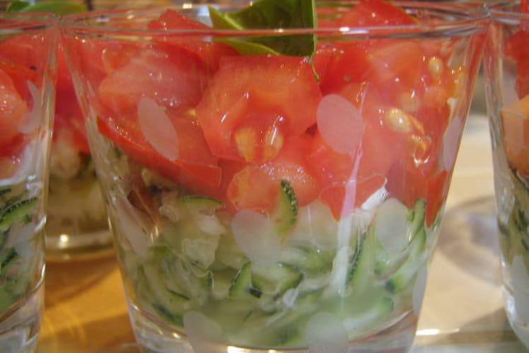 Salade douce et croquante