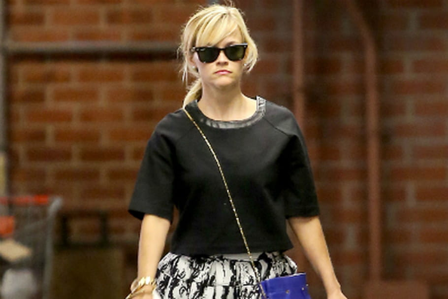 Le look people du jour : Reese Witherspoon, naturellement classe