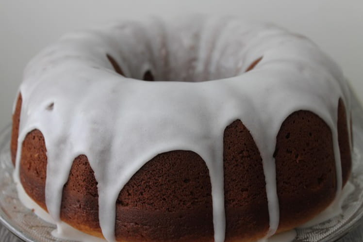 Gâteau au lemon curd, glaçace au sucre