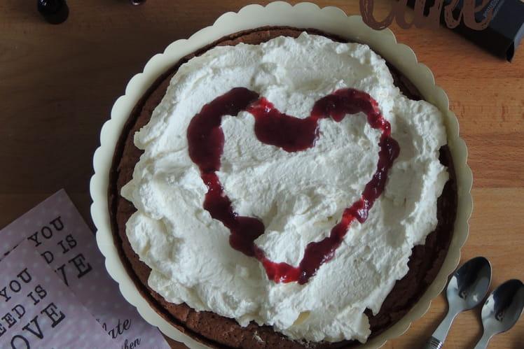 Gâteau façon forêt noire, Black Forest Cake