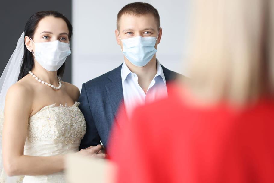 Mariage Covid: peut-on se marier en confinement, à combien?