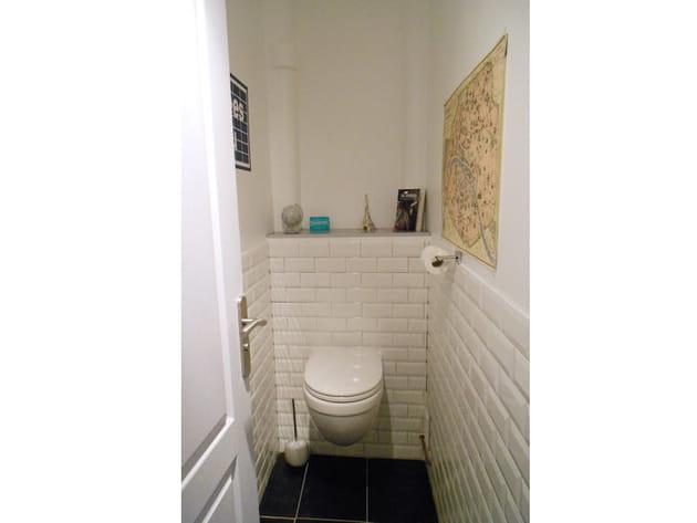 L'espace WC réaménagé