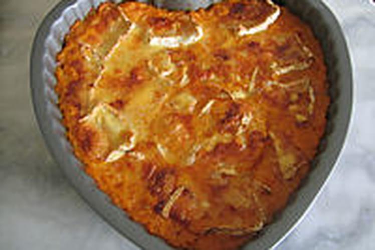 Gâteau de patates douces à la poudre d'amandes