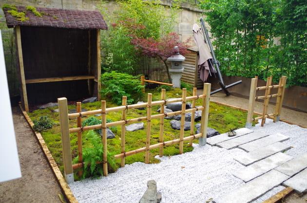 Un petit jardin japonais