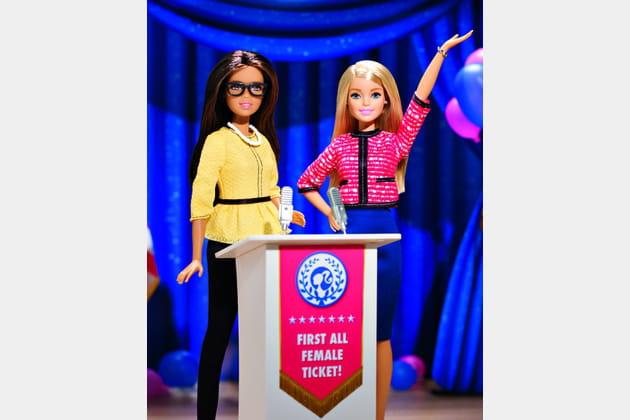 Barbie® en route pour la Maison-Blanche