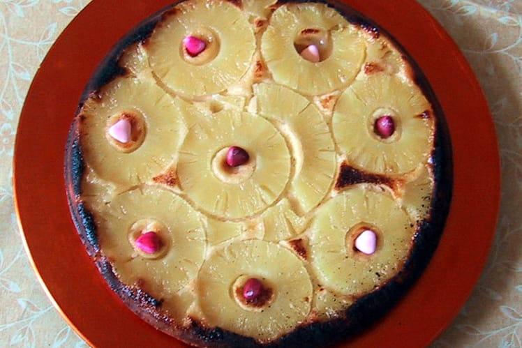 Gâteau renversé à l'ananas pas cher