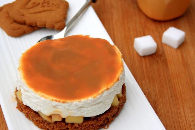 recette de cheesecake sans cuisson aux sp 233 culoos pommes