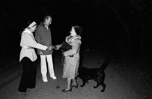 Valéry et Anne-Aymone Giscard d'Estaing, au fort de Brégançon (1981)