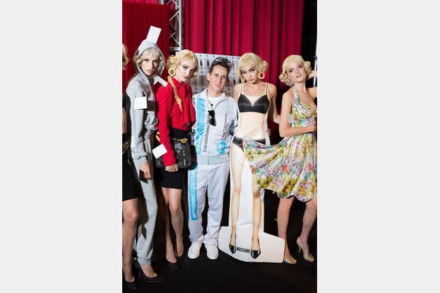 Moschino (Backstage) - photo 17