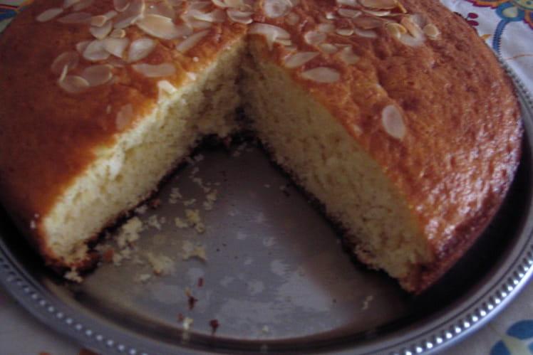 Gâteau moelleux allégé aux pommes
