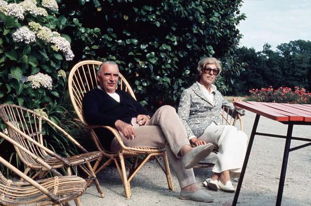 Georges et Claude Pompidou, en Bretagne (1972)