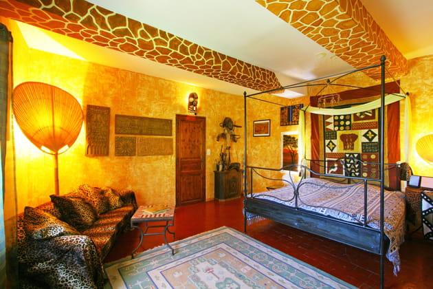 Une chambre safari