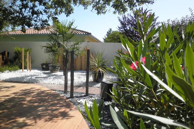 Terrasse en bois composite - Terrasse jardin bois composite roubaix ...