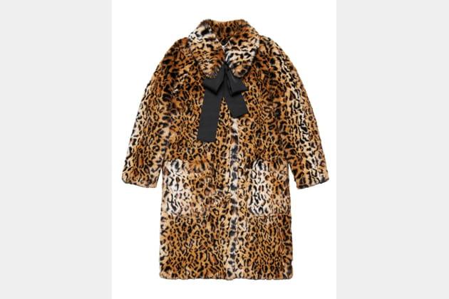 Manteau en fausse fourrure de ERDEM X H&M