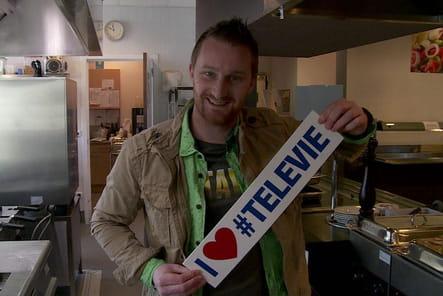 Julien Lapraille, son soutien à Télévie