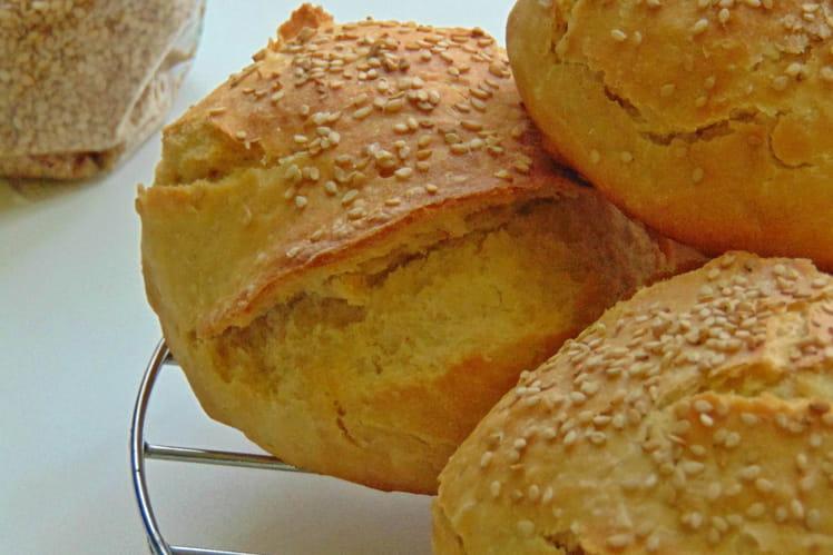 Petits pains typiques de Palerme Mafalde siciliennes