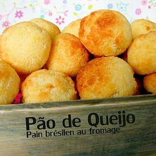 pains au fromage brésiliens - pão de queijo