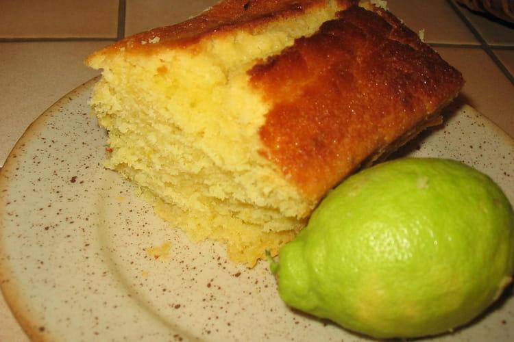 Cake au citron parfumé