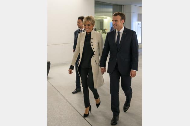 Brigitte Macron le 8novembre 2017