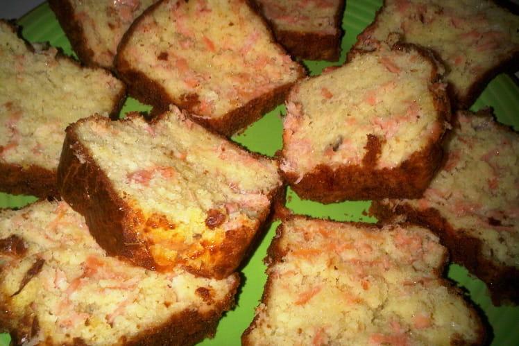 Cake au saumon fumé et citron