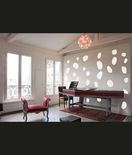 Appartement d'artiste à l'espace aéré et optimisé