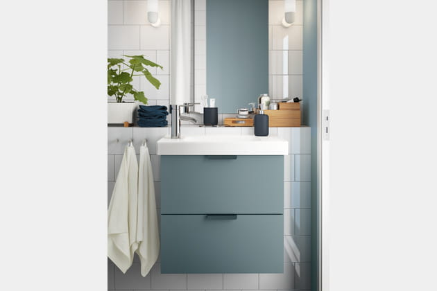 Meuble 2tiroirs Godmorgon Hagaviken par Ikea