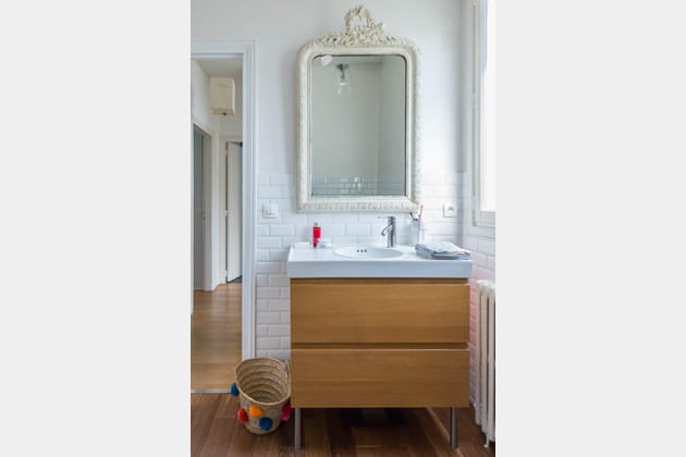 Vasque et miroir