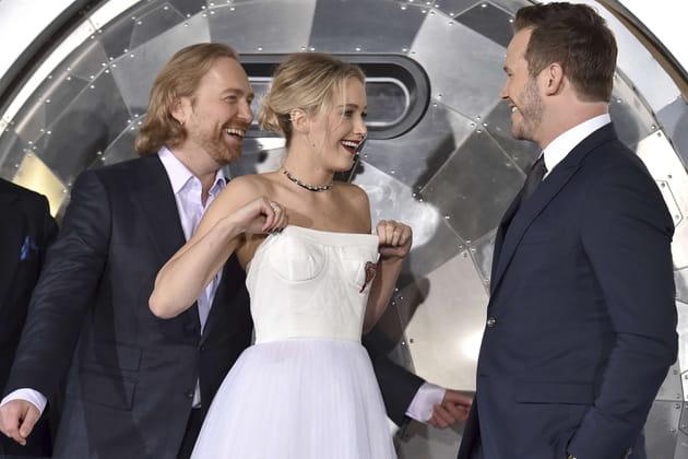 Jennifer Lawrence n'a pas eu beaucoup de monde au balcon