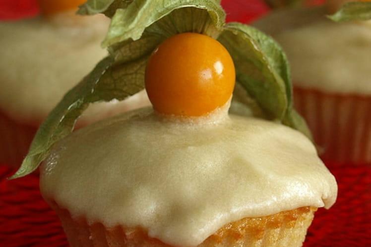 Cupcakes au caramel salé