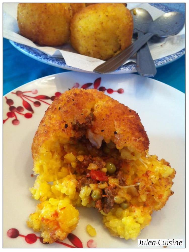 arancini boulettes de riz farcies siciliennes - Boulette Papier Mariage