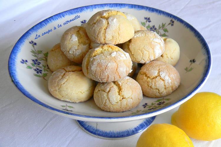 Biscuits tendres au citron (Biscotti morbidi al limone)