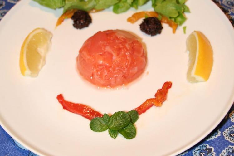 Sourire de saumon