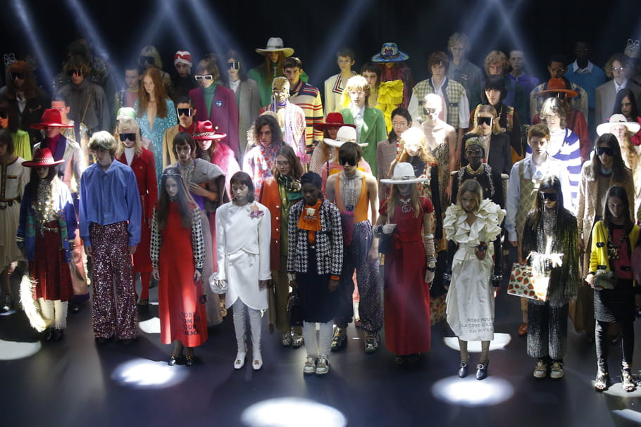 Gucci en mode eighties: ça c'est Palace!