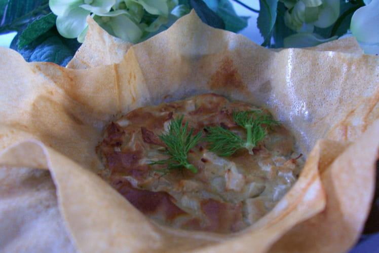Bouchées fenouil-roquefort