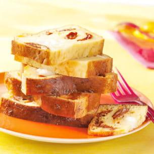 Cake Tomates Sechees Mozzarella Thermomix