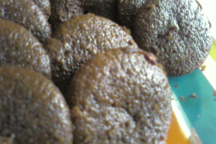 Mignardises moelleuses chocolat-framboises