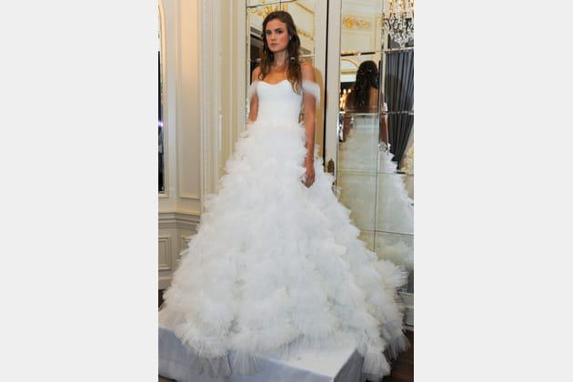 La robe volumineuse Marchesa