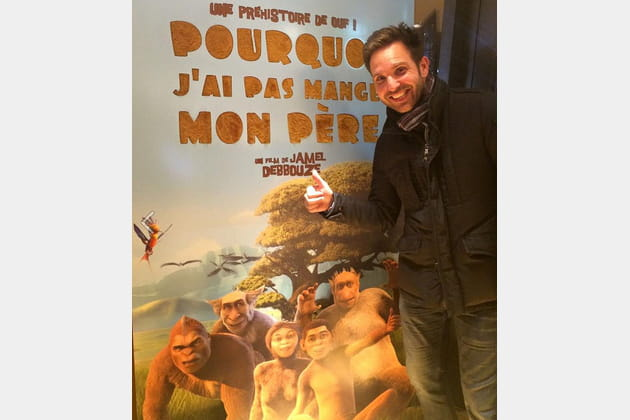 Christophe Michalak fait le singe