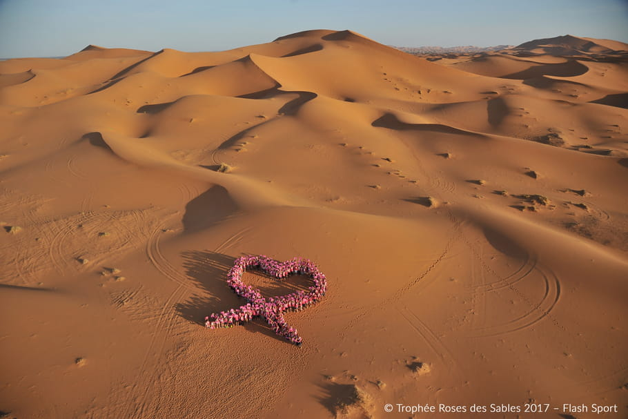 Trophée Roses des Sables: unies contre le cancer du sein
