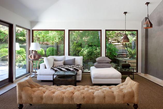 Une maison ouverte sur la nature en Californie