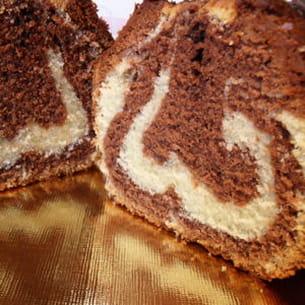 cake marbré façon savane
