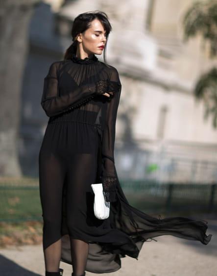 La robe transparente
