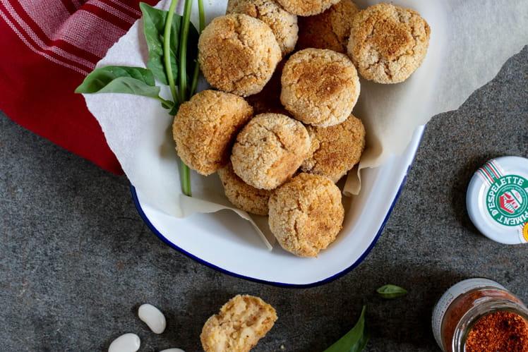 Croquettes de Haricots Tarbais au piment d'Espelette