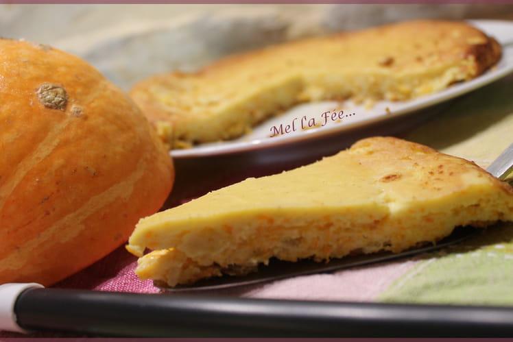 Gâteau magique au potimarron et au comté