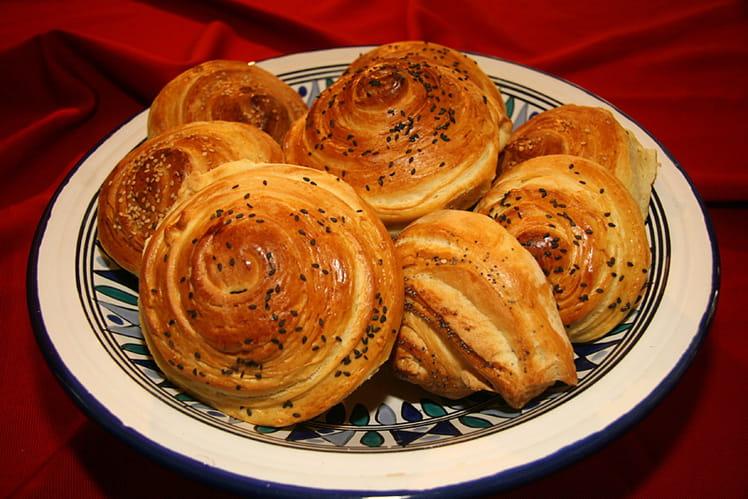 Shorgoghal ou petits pains feuilletés
