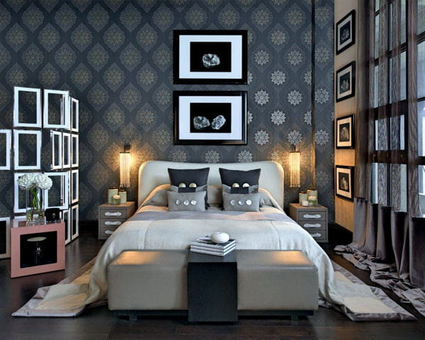 banc de lit par kelly hoppen. Black Bedroom Furniture Sets. Home Design Ideas