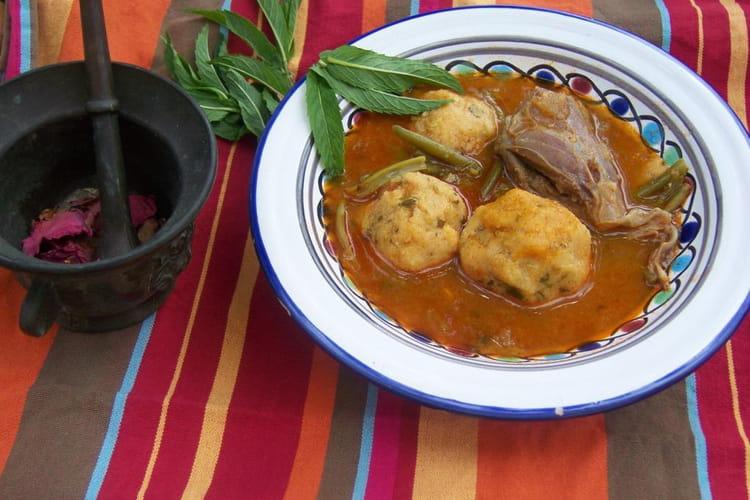Lasbanne (boulettes de semoule berbères)