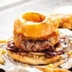 burger barbecue du camion qui fume100