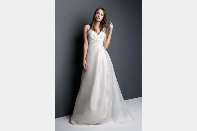 Robe de mariée drapée de Georges Hobeika